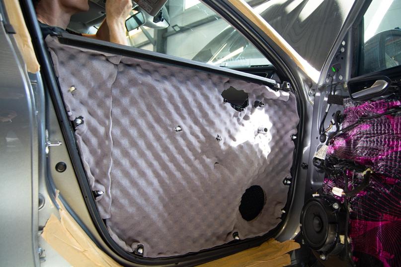 Комплексная шумоизоляция Renault Arkana, изображение №17
