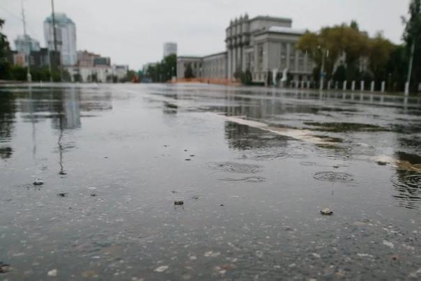 Неделя в Самарской области начнется с дождей В нач...