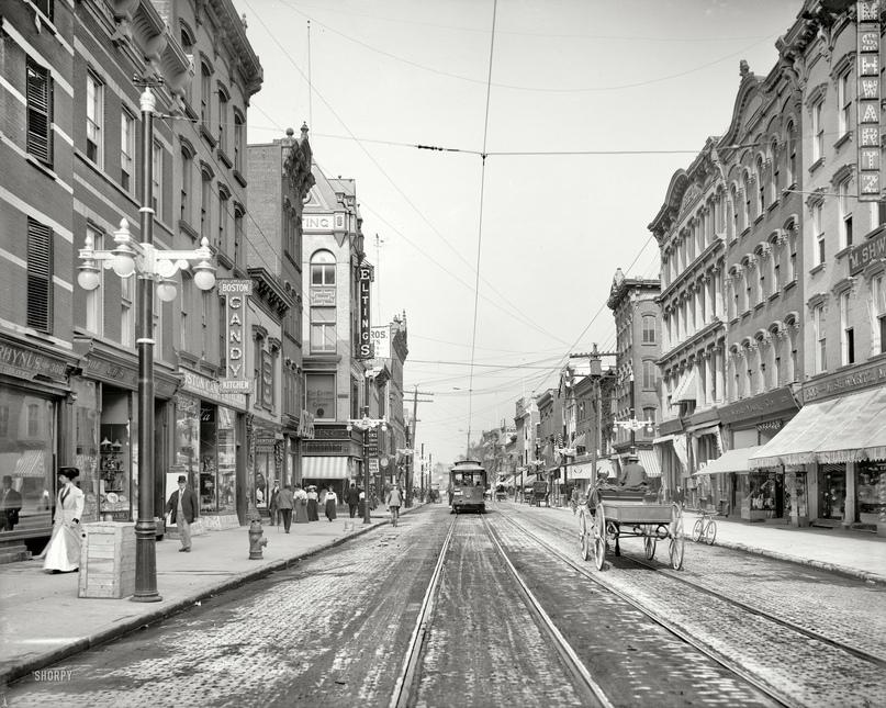 HD-фотографии городов США сделанные в 1900-1915 годах, изображение №29