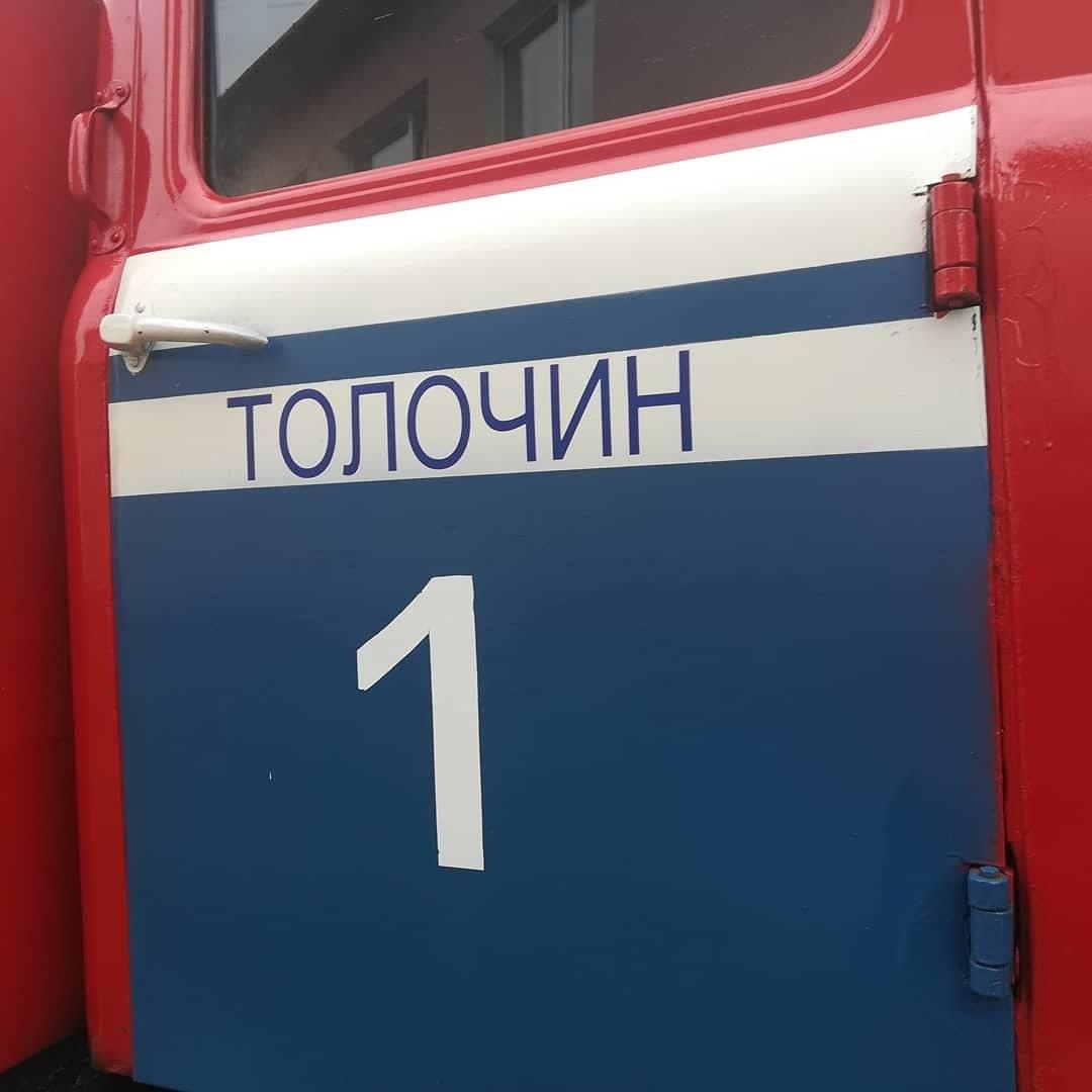 30 сентября в Толочинском районе сгорела беседка