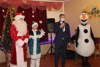 Поздравление воспитанников Шахтерской санаторной школы № 15