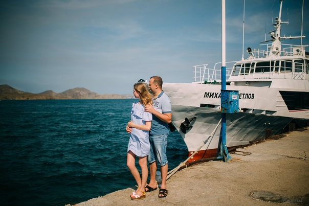 Фотосессия в Коктебеле (Love story). Юлия 07.19