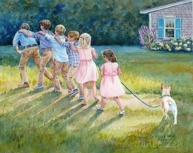Гуляем вчера с детьми в парке возле дома. Мария с Марго, двойняшки скоро 7 лет,...