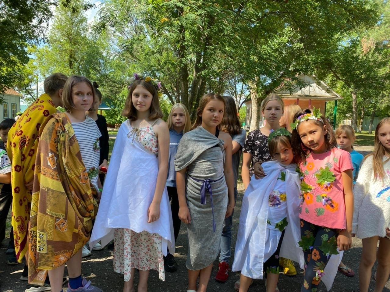 В лагере имени Аркадия Гайдара прошли спортивные и творческие состязания