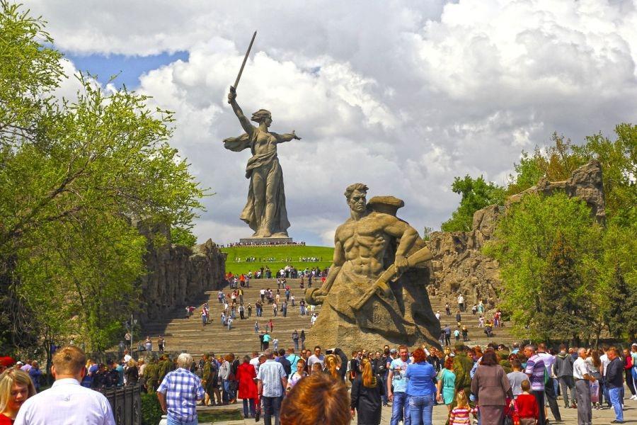 Волгоград. Портрет города