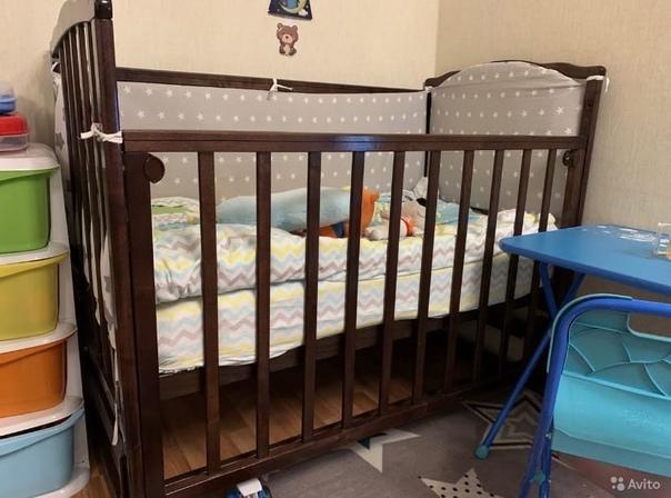 Продам!!1. Кровать детская. С матрасом и бортиками...