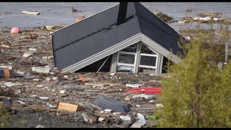Global flood in San Juan del Rio Chaos in Mexico