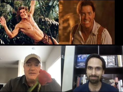 Brendan Fraser speaks French with Muneeb Qadir and talks about Scorsese's next with Leo DiCaprio