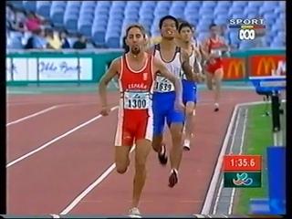 Sydney 2000 Paralympic Games - Mens T36 800m Final