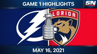 NHL Game Highlights | Lightning vs. Panthers, Game 1 - May 16, 2021