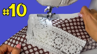 🌟⚡️ Very useful tips and tricks. 🔥👍 Sewing technique for beginners (Part # 10). Sewing projects.