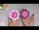 Пионовидная роза из фоамирана. Она покоряет сердца. Rose of David Austin from Foamiran.