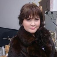 Фотография страницы Алены Андреевой ВКонтакте