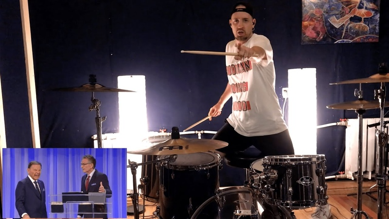 Judgement on COVID-19 goes HEAVY METAL DRUM COVER [Kenneth Copeland and Andre Antunes Drum Remix]
