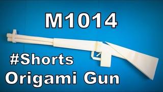 Origami Gun M1014 | Easy Origami ART Paper Crafts #Shorts
