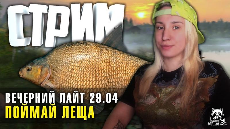 Вечерний Лайт 5 с Ангелиной Baz 1440p Русская Рыбалка 4