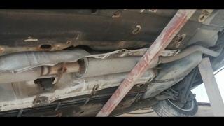 Opel Vectra B: Пескоструй и обработка днища
