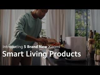 Новые устройства Xiaomi для умной жизни